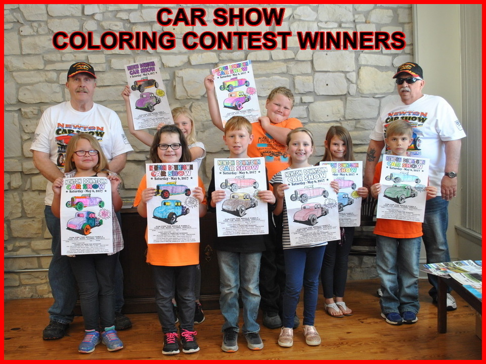 COLORING CONTEST WINNERS 2017